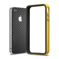 SGP Case NH-2 EX Series Reventon Yellow + Skin Guard Series Carbon Black [Limited Edition]